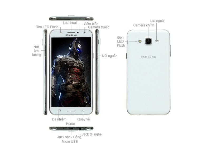 Samsung Galaxy J7 J700 - Trắng