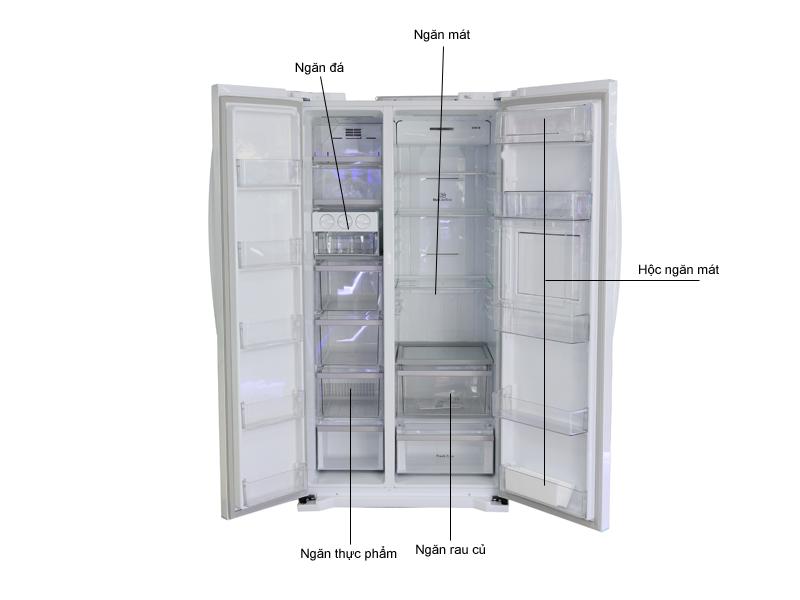 Tủ lạnh SBS LG GRR227GF