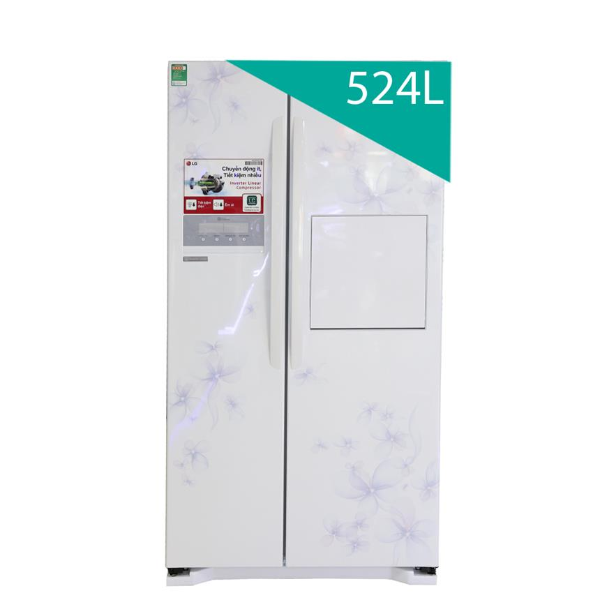 Tủ lạnh 2 cánh SBS LG GR R227GF 581L