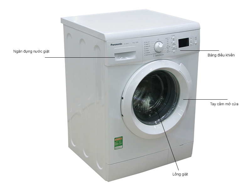 Máy giặt Panasonic NA108VK5WVT