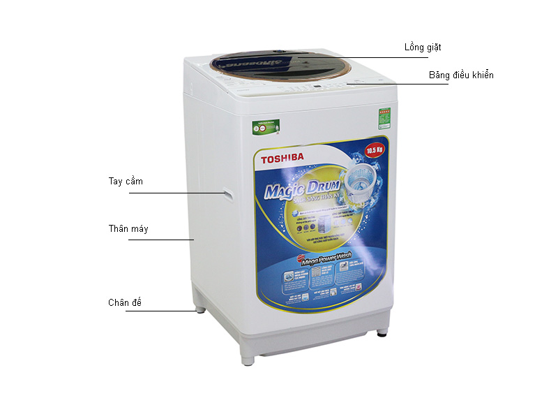 Máy giặt Toshiba AWME1150GVWK