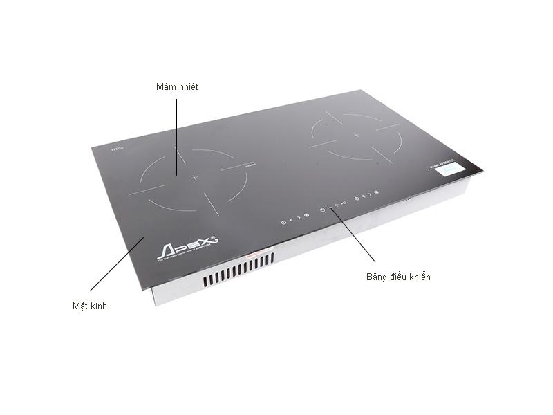 Bếp đôi hồng ngoại điện từ APEX APB9911A