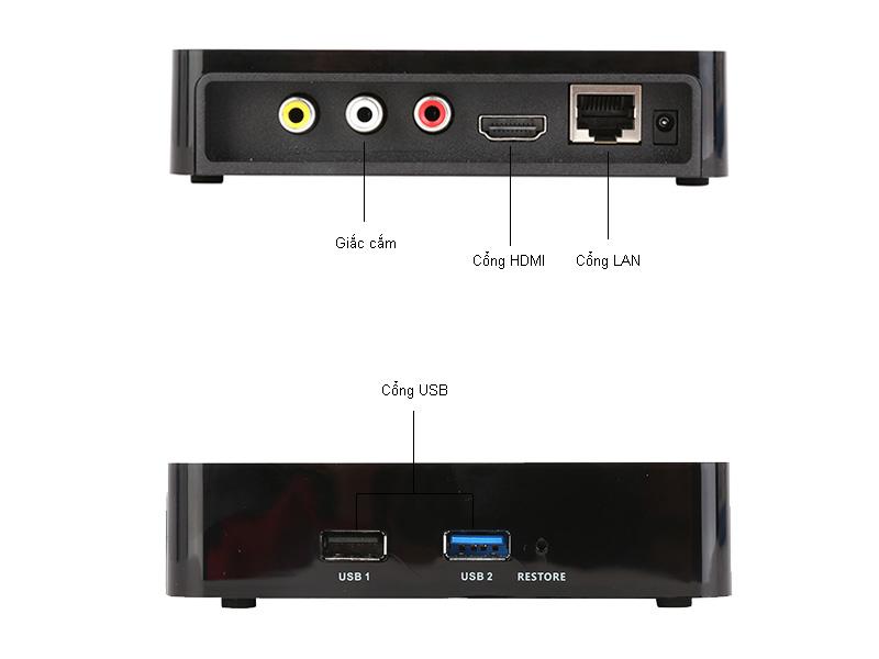 Đầu phát HD HiMedia Q1