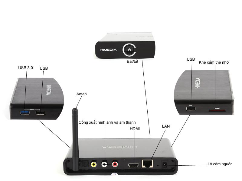 Đầu phát HD HiMedia Q3