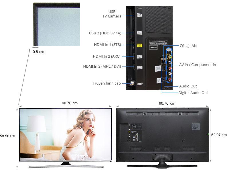 TIVI LED Samsung UA40J5520-40inch