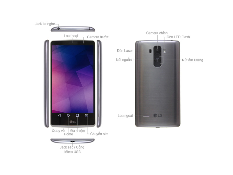 LG G4 Stylus H540 - Titan