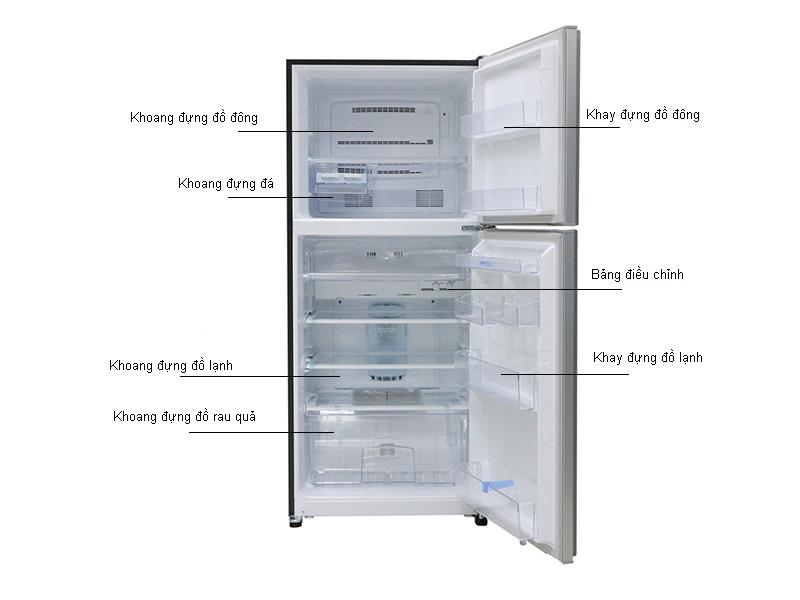Tủ lạnh MITSUBISHI MRF42EHSTV
