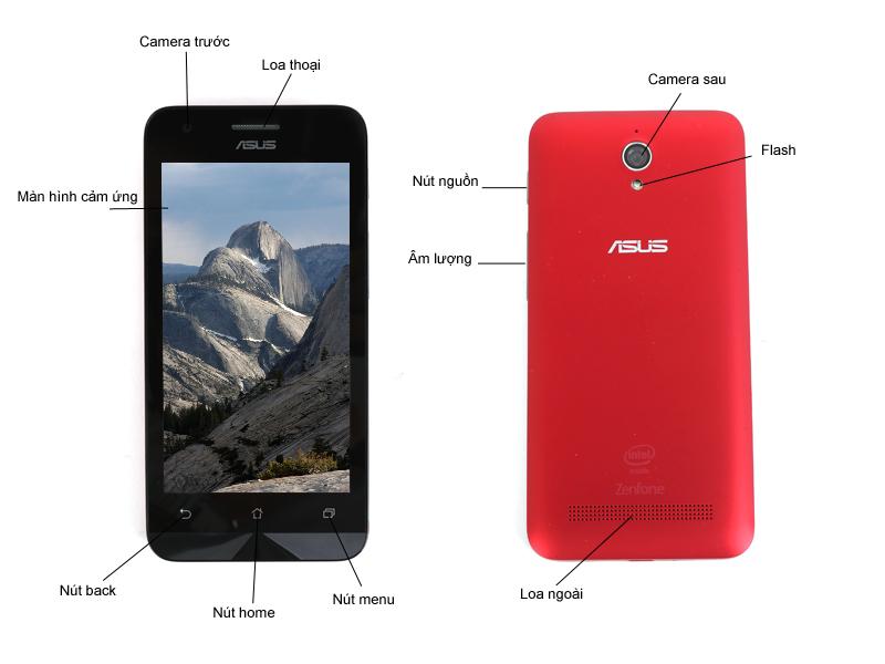 Asus Z007 Zenfone C ZC451CG1B116WW - Trắng
