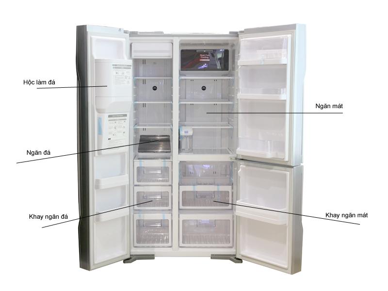 Tủ Lạnh SBS Hitachi RM700GPGV2GS 584 lít
