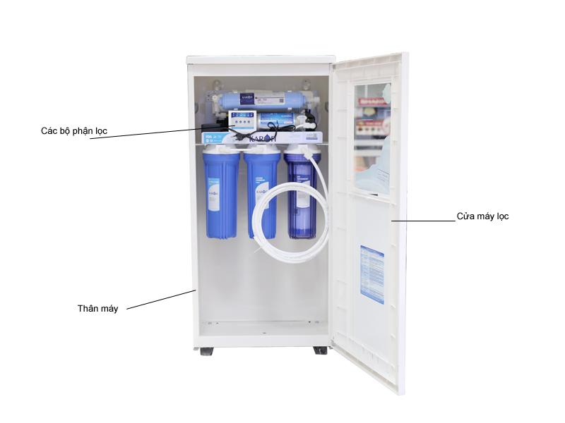 Máy lọc nước Karofi thông minh 6 cấp - Tủ IQ K6IQ