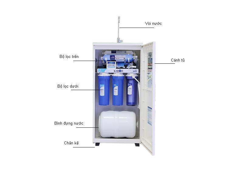 Máy lọc nước thông minh Karofi 7 cấp - Tủ IQ K7IQ