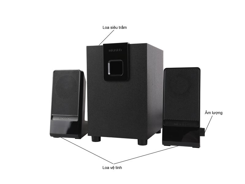 Loa Microlab M100 2.1