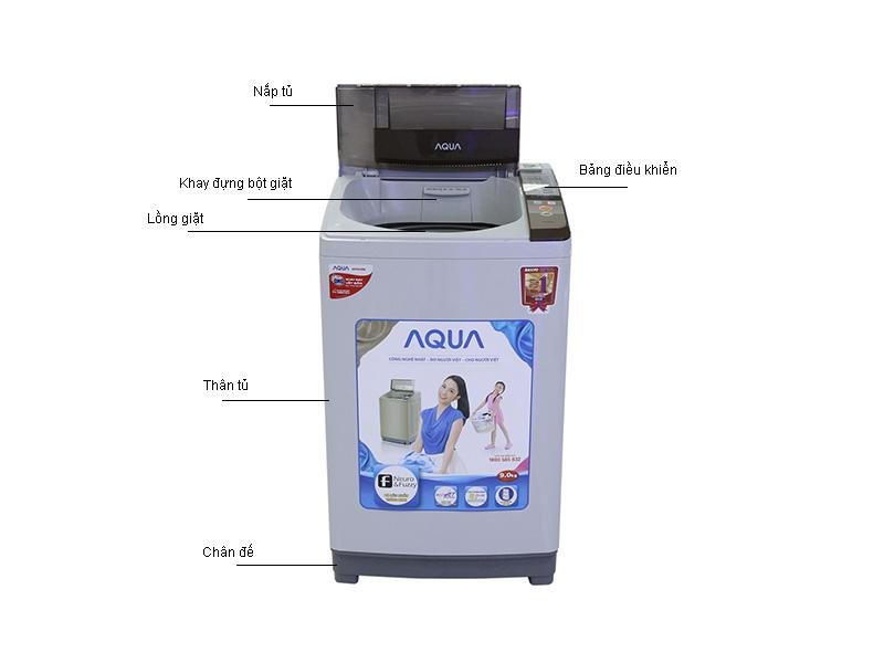 Máy giặt Aqua AQWS90ZTH