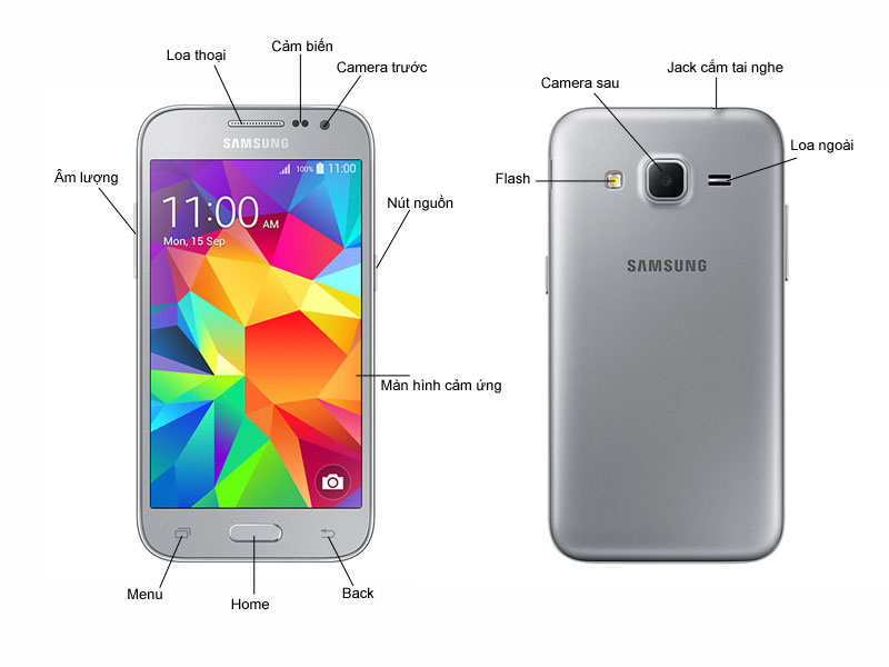 Samsung Galaxy Core Prime VE G361 - Trắng