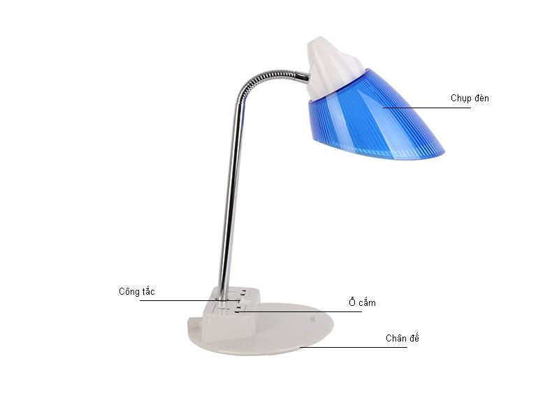 Đèn bàn LiOA khớp mềm LIDBM27D