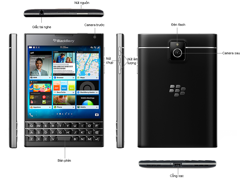 Blackberry Passport - Bạc