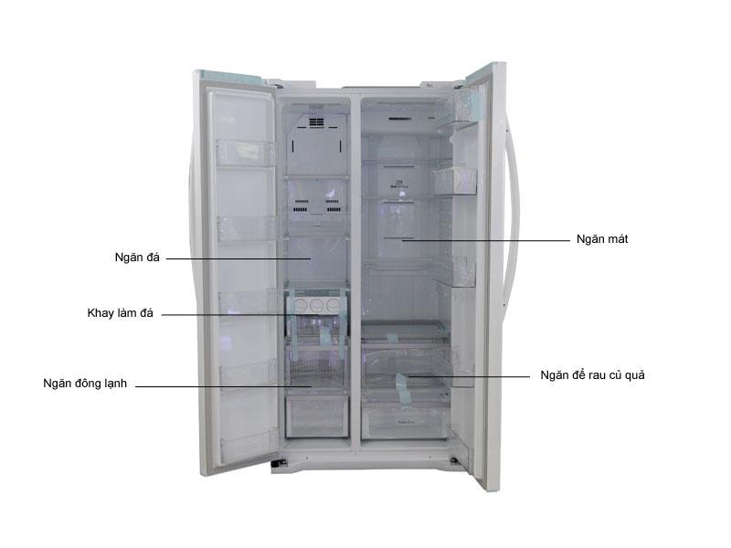 Tủ lạnh Inverter SBS LG GRB227GF