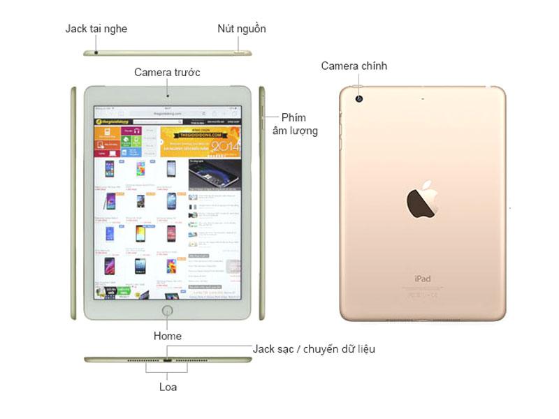 iPad Mini 4 Wifi Cell 4G 16GB - Bạc