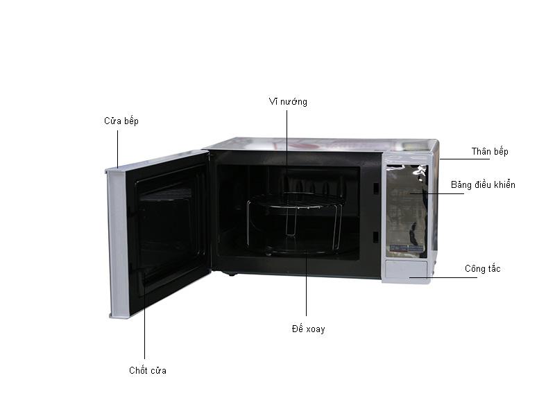 Lò Vi Sóng LG MH6343DAR