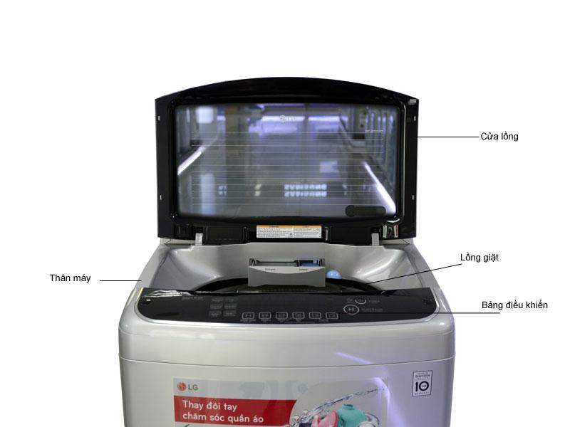 Máy giặt LG WFD1617SD