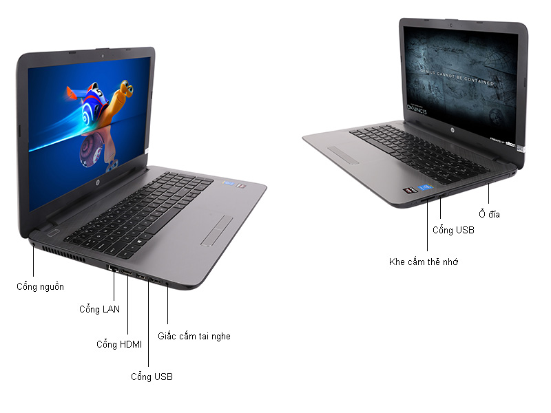 HP15-AC001TX - Bạc