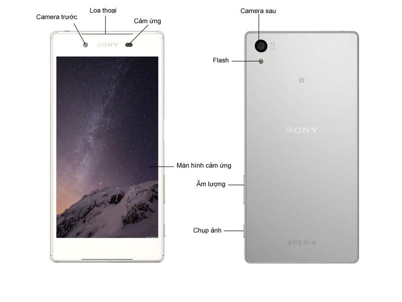 Sony Xperia Z5 Dual E6683 - Xanh
