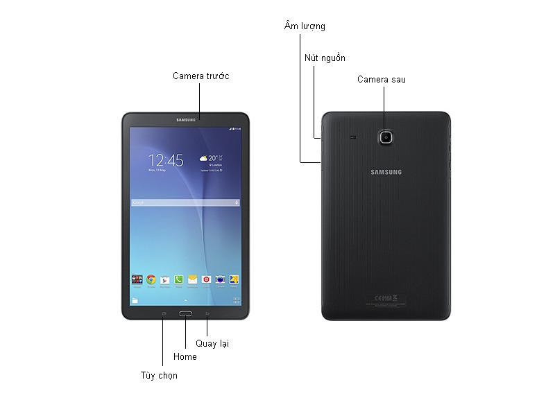 Samsung Galaxy Tab E - T561 - Đen
