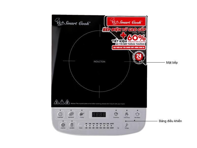 Bếp điện từ cao cấp Smartcook 2357285