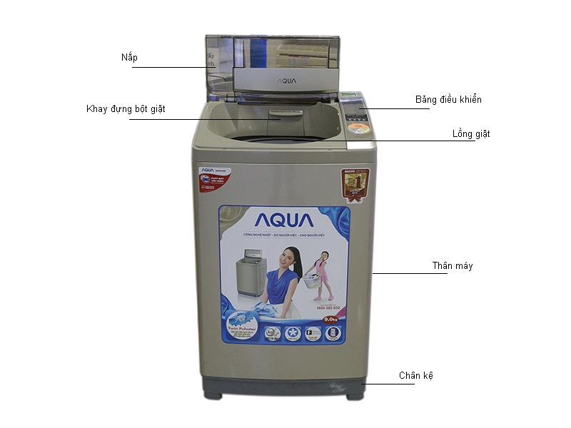 Máy giặt Aqua AQWQW90ZTN