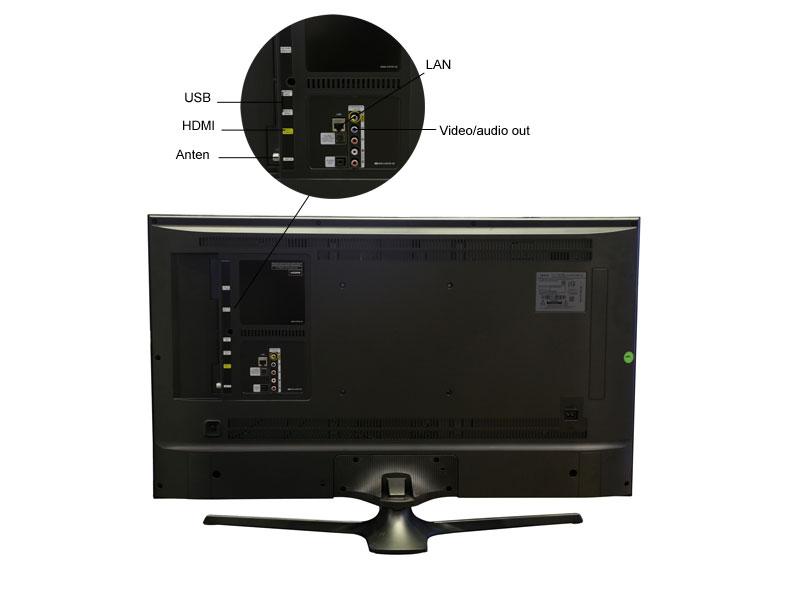 TIVI LED Samsung UA40JU6060 - 40 inch