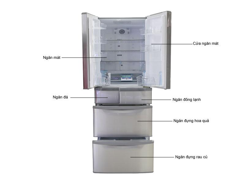 Tủ lạnh Inverter Hitachi SF48EMVSH