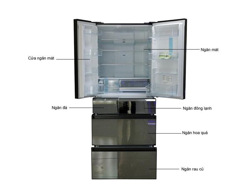 Tủ lạnh INVERTER Panasonic NRF610GTX2