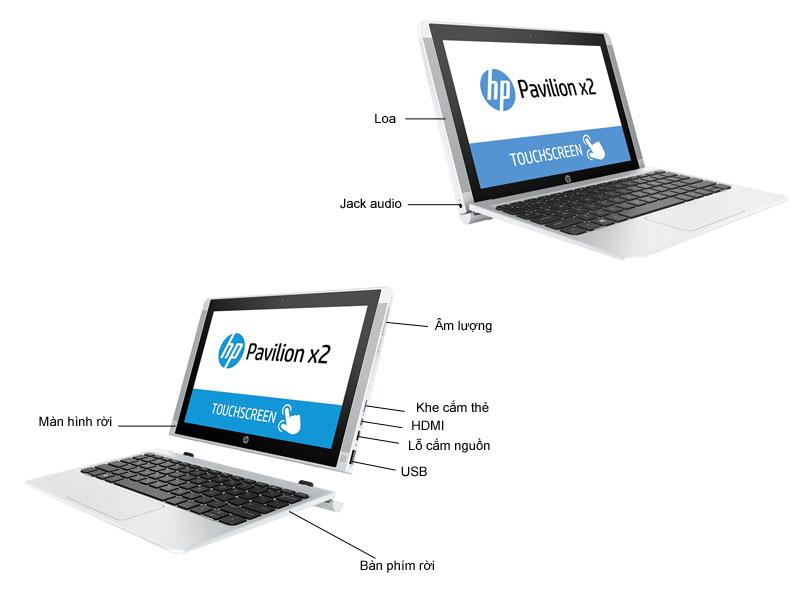 HP Pavilion X2 10-n135TU - Trắng