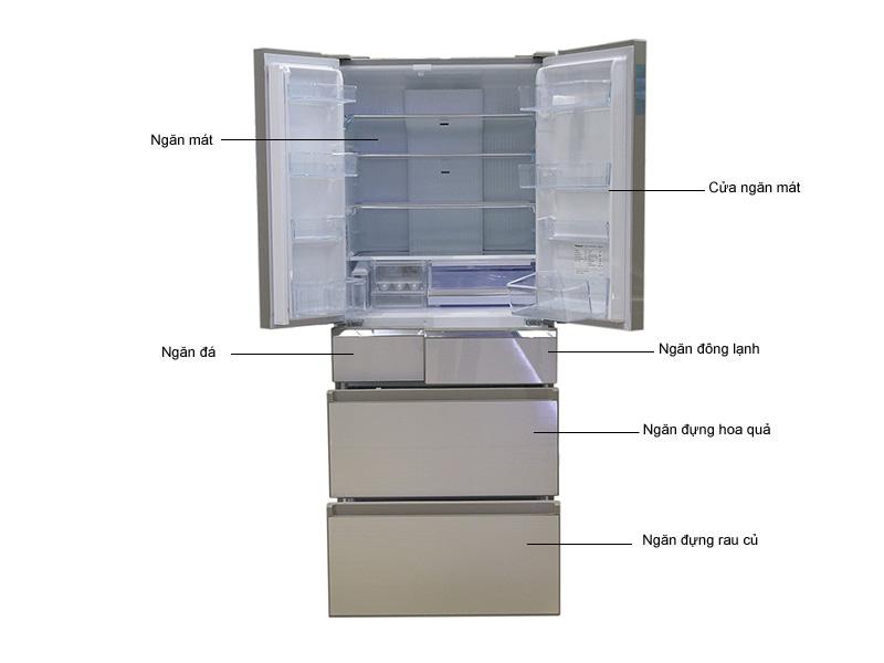 Tủ Lạnh Inverter Panasonic NR-F610GT-N2 558 Lít