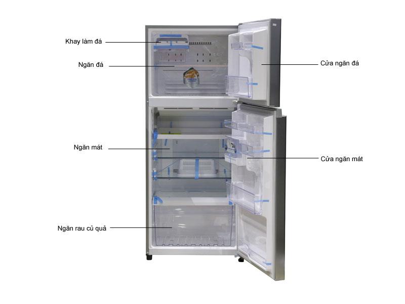 Tủ lạnh Inverter Toshiba GRT41VUBZFS1 - Bạc
