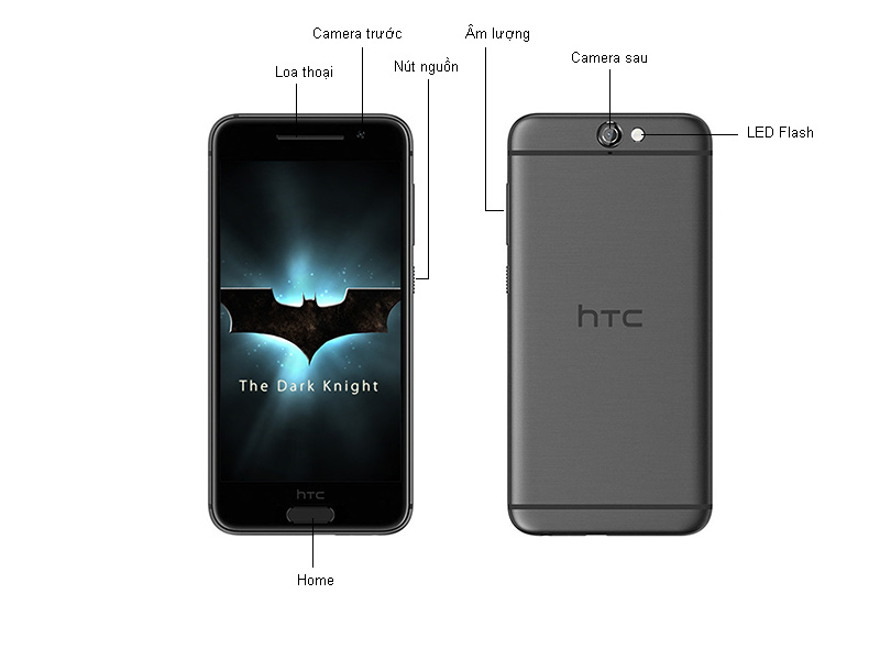 HTC One A9 - Bạc