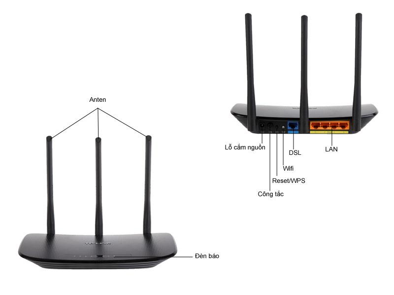 Bộ phát sóng Tplink TLWR940N Ver 3.0