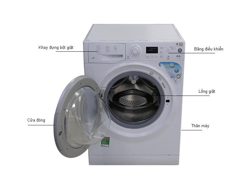 Máy giặt sấy quần áo Ariston WDG862BS