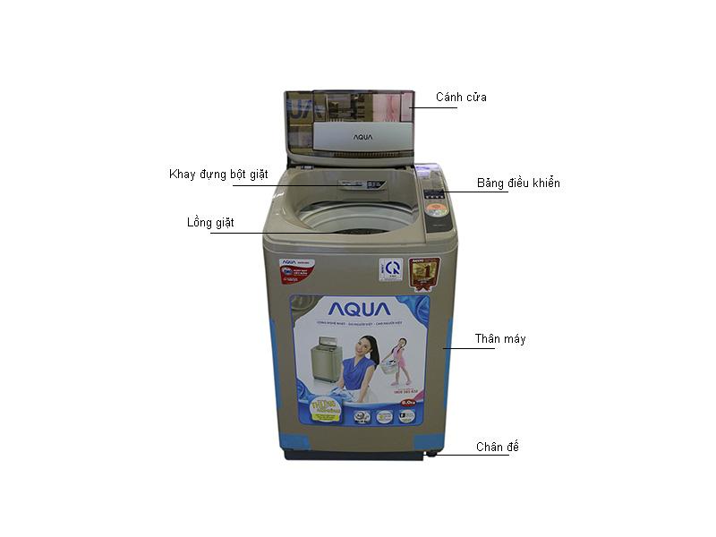 Máy giặt Aqua AQWF800Z1TN