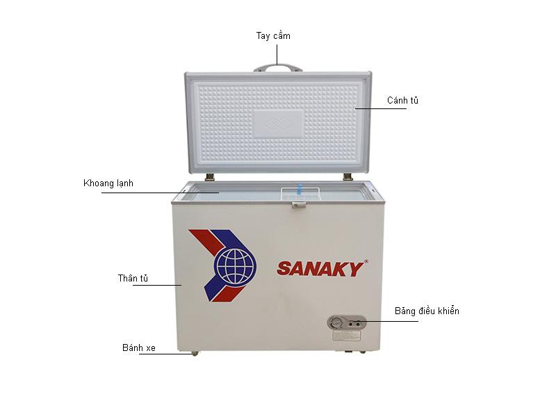 Tủ đông Sanaky VH255HY2