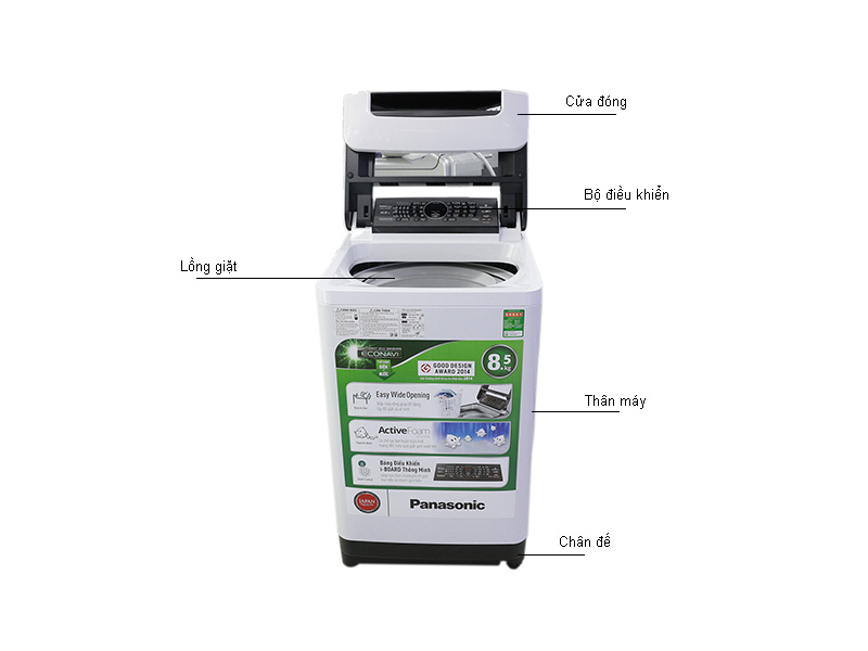 Máy giặt Panasonic NAF85G1WRV  - Trắng