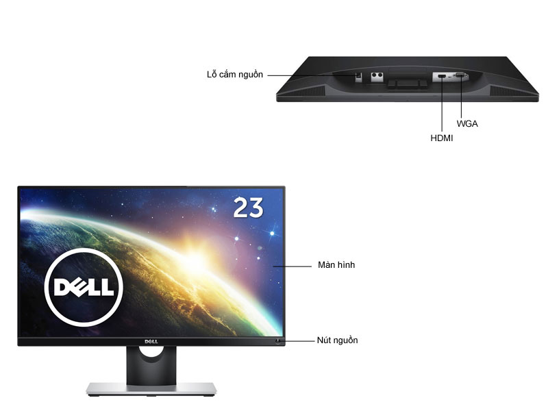 Màn hình máy tính LED Dell S2216H