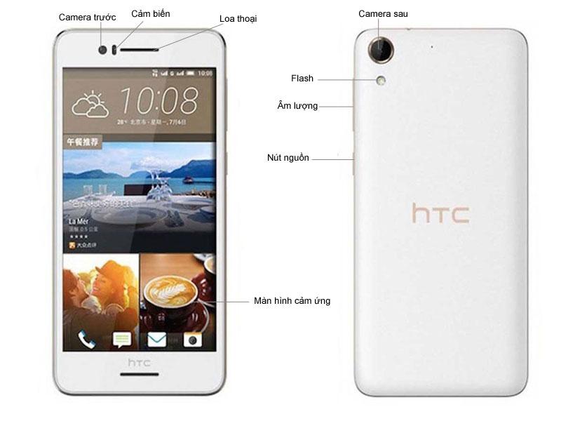 HTC Desire 728G Dual SIM - Trắng