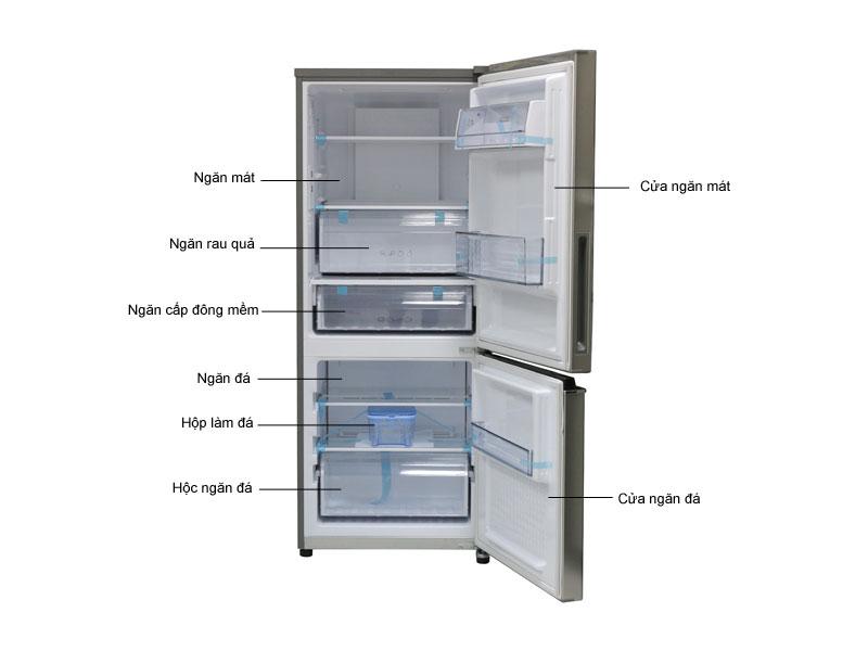 Tủ lạnh Panasonic NRBV288QSVN 255 Lít - Inverter