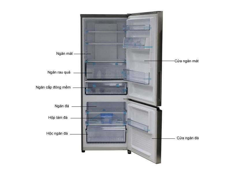 Tủ lạnh Inverter Panasonic NRBV368QSVN