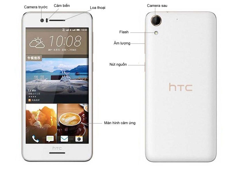 HTC Desire 728G Dual SIM - Đen