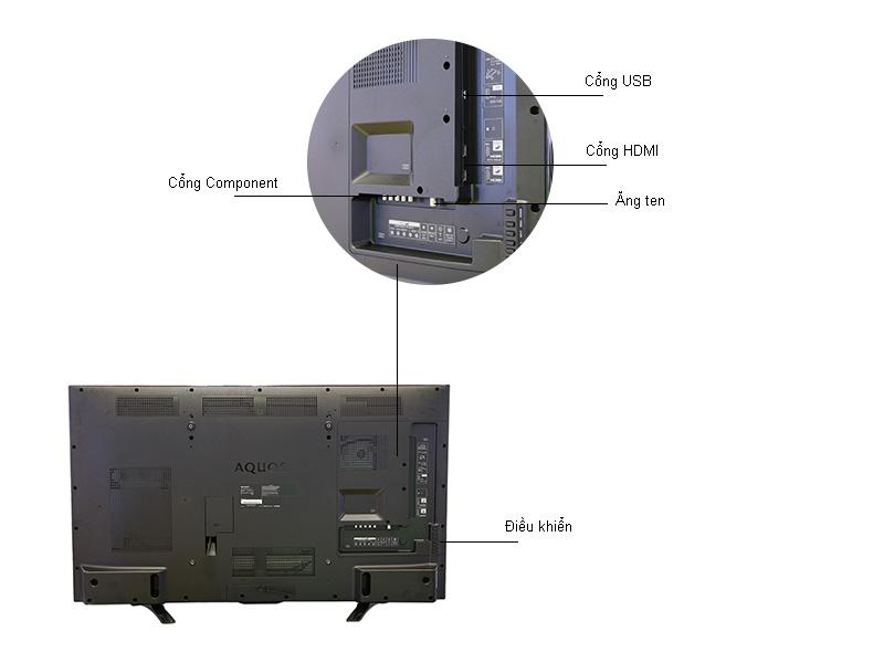 TIVI LED SHARP LC50LE275X