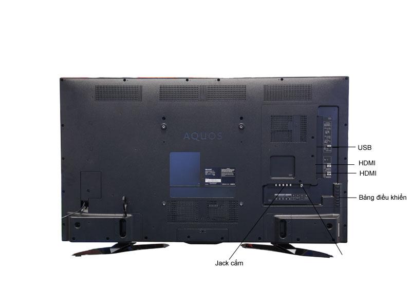 TIVI LED SHARP LC50UA330X