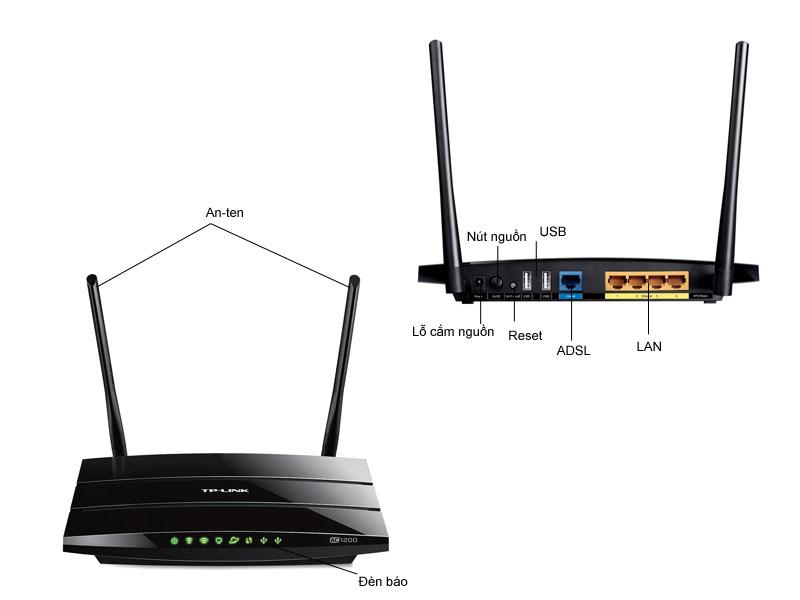 Bộ phát sóng wifi băng tần kép TP-Link Archer C5
