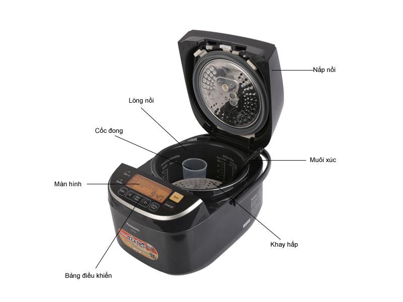 Nồi cơm điện cao tần Panasonic SRPX184KRA